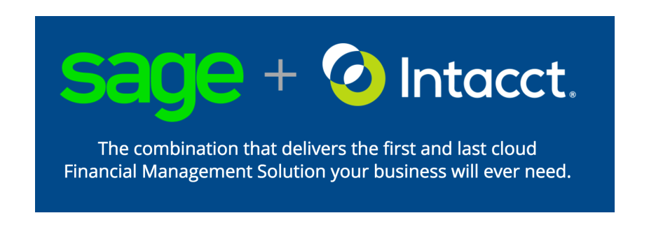 Intacct is now Sage Intacct