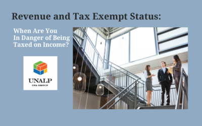 Revenue and Tax Exempt Status:  When Are You In Danger of Being Taxed on Income?
