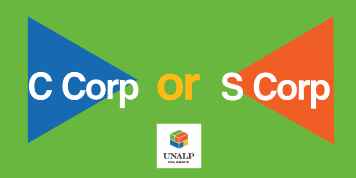 S Corp v C Corp - Which is Best for You?