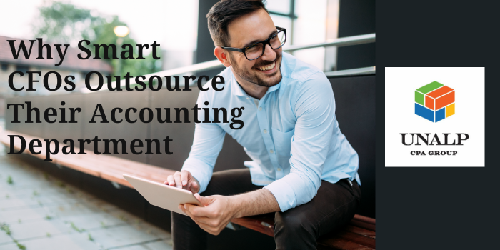 Why Smart CFO's Outsource Their Accounting Department