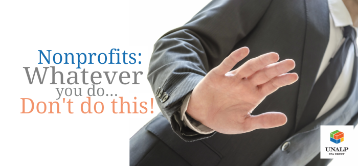 Nonprofits – Whatever You Do, Don't Do This!