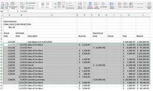 fractional CFO services, How to Forecast Your Cash Flow